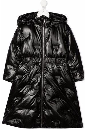 Emporio Armani Girls Parkas - Zipped padded parka coat