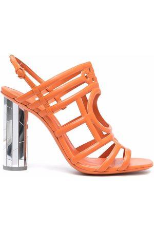 Salvatore Ferragamo Women Heeled Sandals - Mirrored Heel Strappy sandals