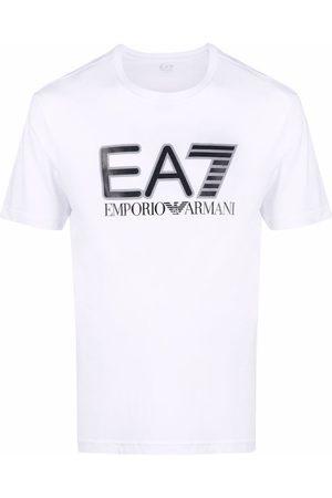EA7 Men Short Sleeve - Logo-print short-sleeved T-shirt