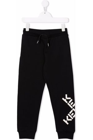 Kenzo Kids Logo track trousers