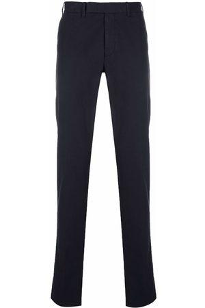 Ermenegildo Zegna Men Formal Pants - Mid-rise tailored trousers