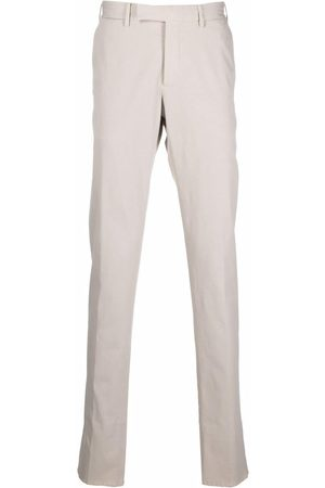 Ermenegildo Zegna Mid-rise tailored trousers - Neutrals