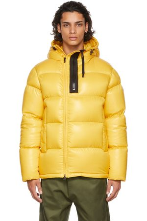 Moncler Yellow Down Guitry Jacket