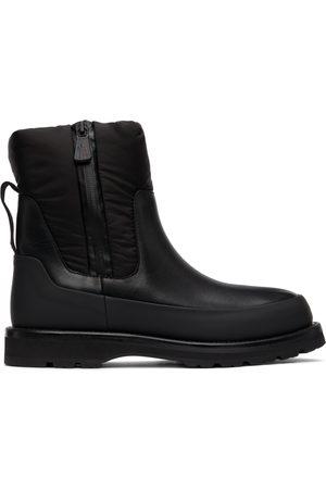 Moncler Women Rain Boots - Black Rain Don't Care Boots