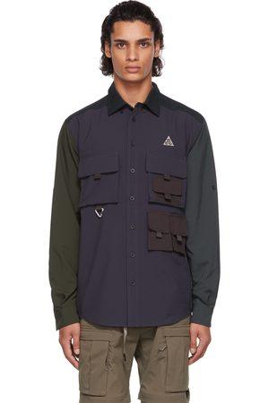 Nike Men Shirts - Multicolor ACG Dri-FIT ADV UV Devastation Trail Shirt