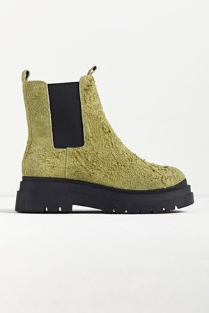 Urban Outfitters Men Chelsea Boots - UO Baldwin Hairy Suede Boot