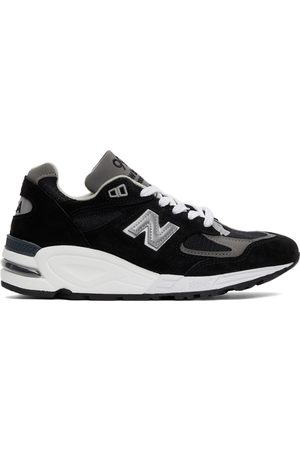 New Balance Women Sneakers - Black Made in US 990v2 Sneakers