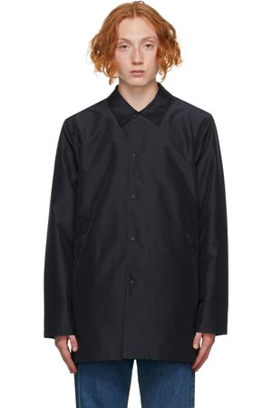Paul Smith Men Rainwear - Navy Recycled Mac Raincoat