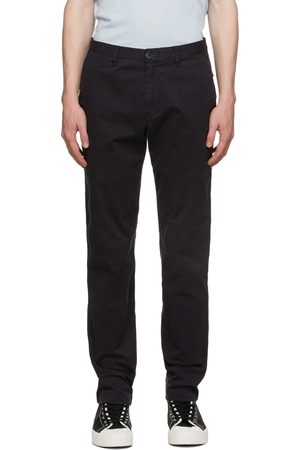 Paul Smith Black Tapered Chino Trousers