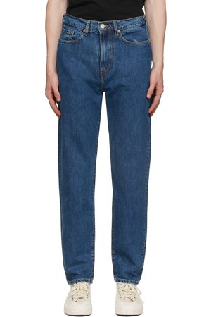 Paul Smith Blue Tapered-Fit Jeans