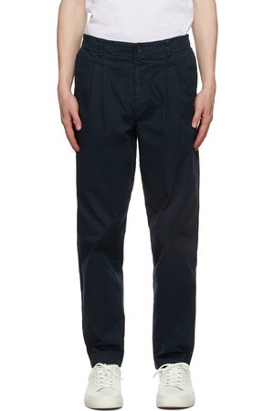 Paul Smith Navy Double Pocket Chino Trousers