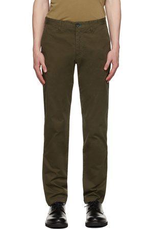 Paul Smith Men Chinos - Khaki Tapered Chino Trousers