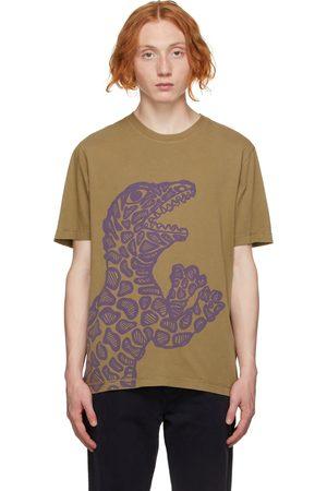 Paul Smith Men T-shirts - Green Dino T-Shirt