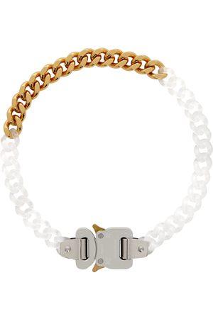 1017 ALYX 9SM Men Necklaces - Transparent & Gold Buckle Necklace