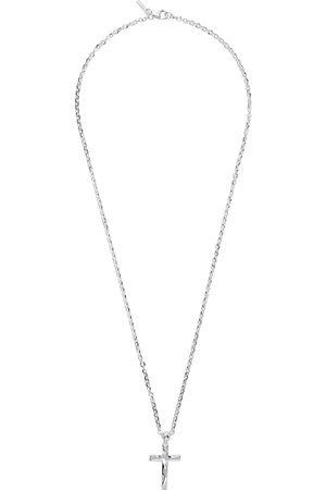 EMANUELE BICOCCHI Men Necklaces - SSENSE Exclusive Silver Cross Necklace
