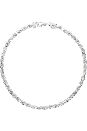 EMANUELE BICOCCHI Men Necklaces - SSENSE Exclusive Silver French Rope Necklace