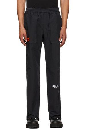 Heron Preston Men Sweats - Black 'Style' Lounge Pants
