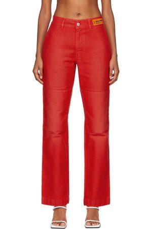 Heron Preston Women Chinos - Canvas Chino Trousers