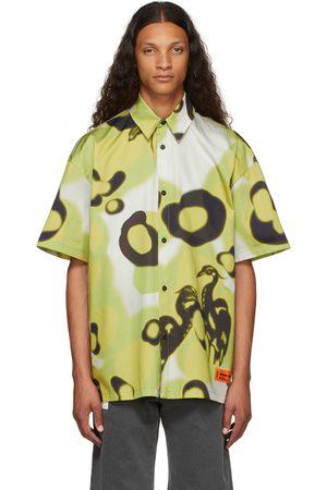 Heron Preston Men Short sleeves - Camou Bowling Short Sleeve Shirt