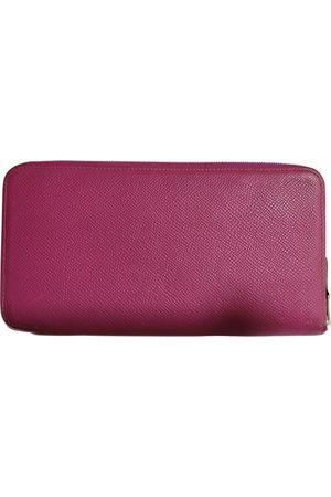Hermès Silk'in leather wallet