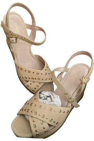 Lumberjack Cloth sandals