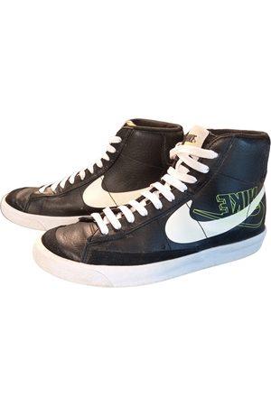 Nike Blazer leather high trainers