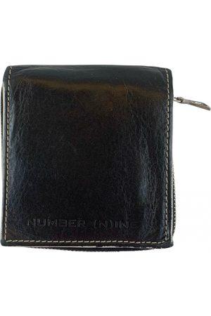 NUMBER NINE - TAKAHIRO MIYASHITA Leather small bag