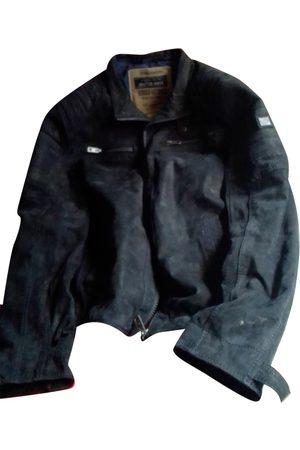 Zu Elements Men Gilets - Leather vest