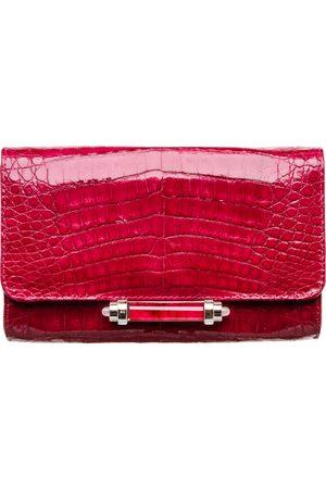 Judith Leiber Crocodile clutch bag