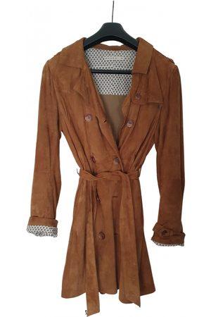 Kookai Leather trench coat