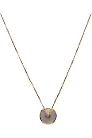 Cartier Women Necklaces - Amulette yellow necklace