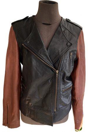 Claudie Pierlot Fall Winter 2020 leather biker jacket