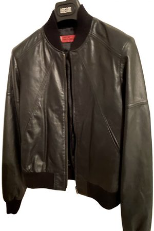 Levi's Women Leather Jackets - Leather biker jacket