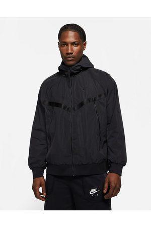 Nike Men Fleece Jackets - Tech Fleece woven windrunner jacket in