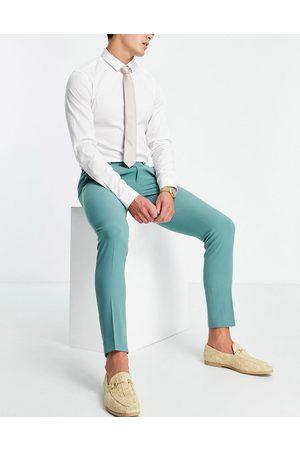 ASOS Super skinny suit pants in sage