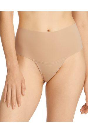Hanky Panky Women Thongs - Breathe Natural High Rise Thong