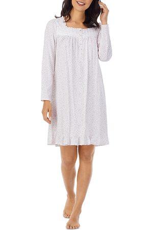 Eileen West Women Nightdresses & Shirts - Printed Short Cotton Nightgown