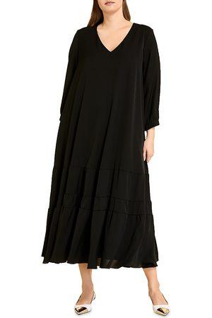 Persona by Marina Rinaldi Darwin Tiered Midi Dress