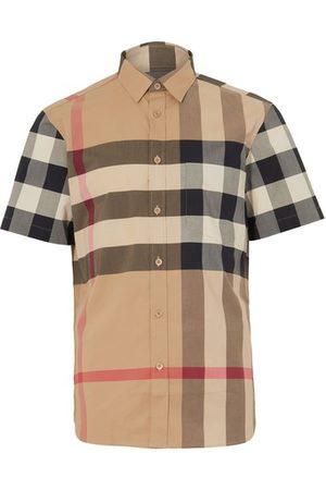 Burberry Men Short sleeves - Somerton Shirt