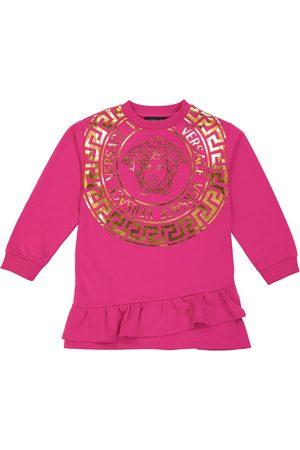 VERSACE Baby Casual Dresses - Medusa cotton jersey dress