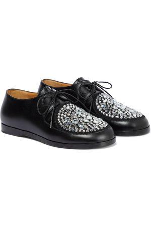 Loewe Disc embellished Derby shoes