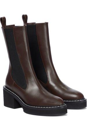 Khaite Calgary leather Chelsea boots