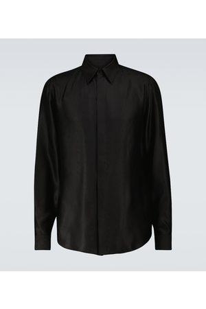 Fendi Silk long-sleeved shirt