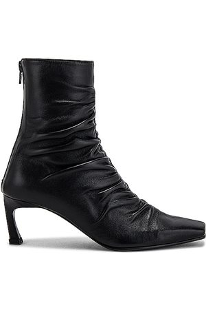 Reike Nen Front Shirring Ankle Boots in .