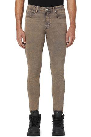 Hudson Men Skinny - Zack Moto Coated Skinny Jeans