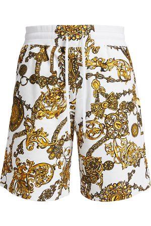 VERSACE Regalia Baroque Drawstring Sweat Shorts