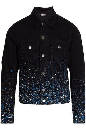 AMIRI Splatter Paint Denim Jacket