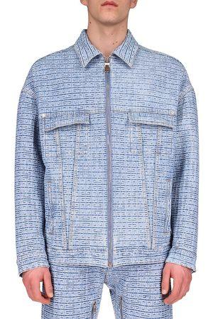 Givenchy Zip-Up Denim Jacket