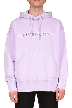 Givenchy Barbed Wire Logo Hoodie Sweatshirt