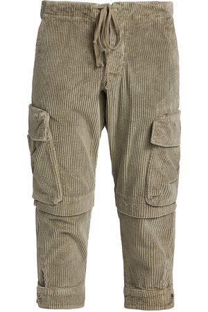 GREG LAUREN Corduroy Cargo Pants